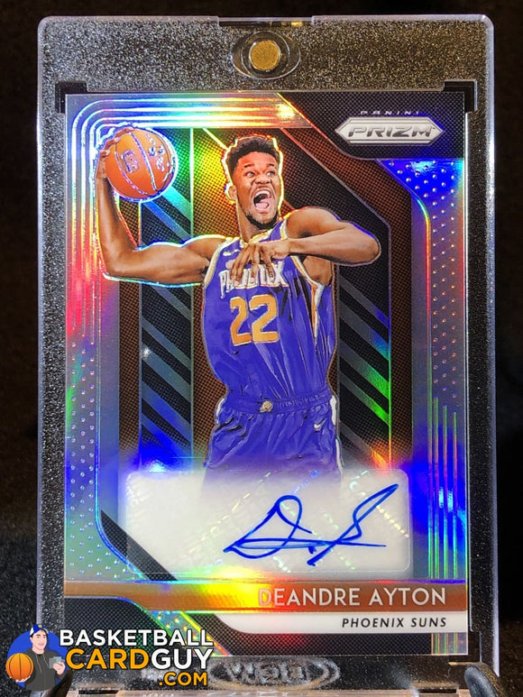 Deandre Ayton 2018-19 Panini Prizms Silver Prizm RC Autograph - Basketball Cards