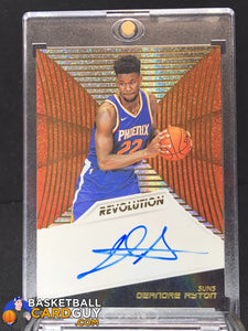 Deandre Ayton 2018-19 Panini Revolution Rookie Autographs (#1) - Basketball Cards