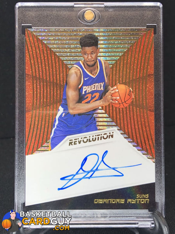 Deandre Ayton 2018-19 Panini Revolution Rookie Autographs (#2) - Basketball Cards