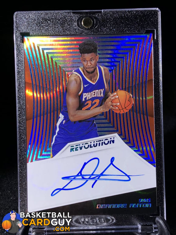 Deandre Ayton 2018-19 Panini Revolution Rookie Autographs Infinite /25 - Basketball Cards