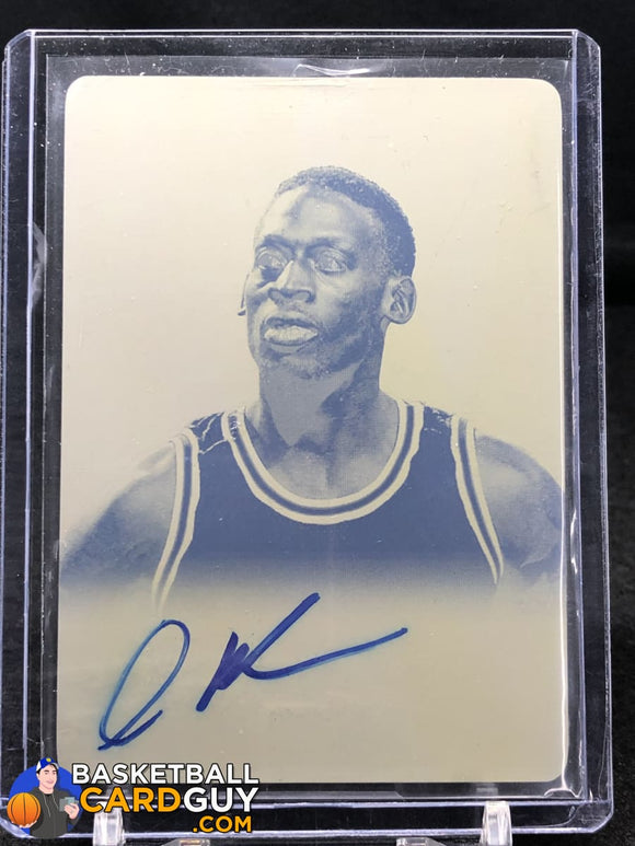 Dennis Rodman 1/1 Autographed Print Plate 2012 Leaf Signature - Basketball Cards