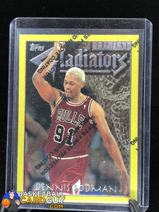 Dennis Rodman 1996-97 Finest Gold (NO GREEN!) - Basketball Cards