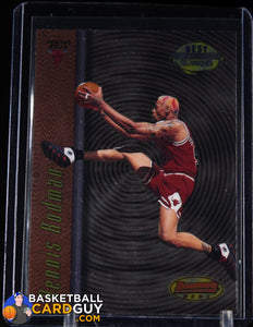 Dennis Rodman 1997-98 Bowman's Best Techniques #T7 - Basketball Cards