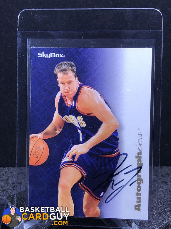Don MacLean 1996-97 Skybox Autographics - Basketball Cards