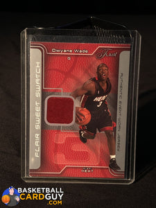 Dwyane Wade 2003-04 Flair Sweet Swatch RC Jersey #/250 - Basketball Cards