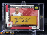Dwyane Wade 2004-05 Upper Deck Hardcourt Hardwood Commemoratives Auto - Basketball Cards