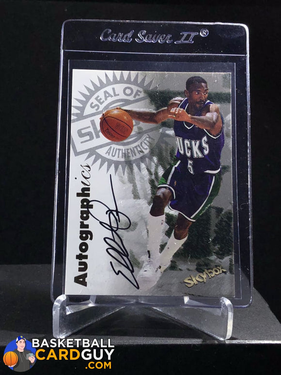 Elliot Perry 1997-98 Skybox Premium Autographics - Basketball Cards