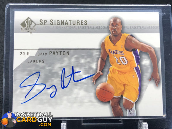 Gary Payton 2003-04 SP Authentic Signatures #GPA - Basketball Cards
