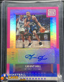 Grant Hill 2017-18 Panini Status Elite Signatures Pink #/99 - Basketball Cards