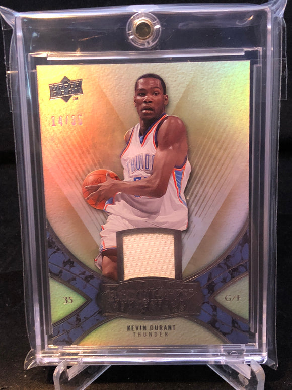 2008-09 Exquisite Collection Jerseys #29 Kevin Durant - Basketball Cards