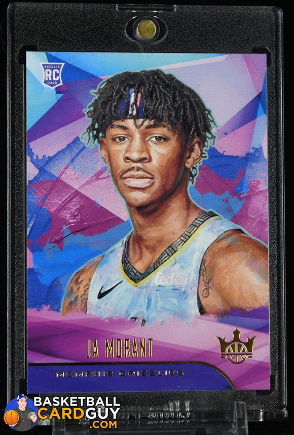 Ja Morant 2019-20 Court Kings #82 RC rookie card