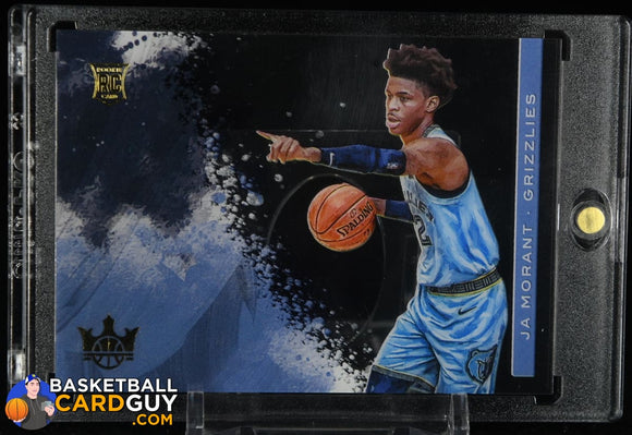 Ja Morant 2019-20 Court Kings Acetate Rookies #15 rookie card