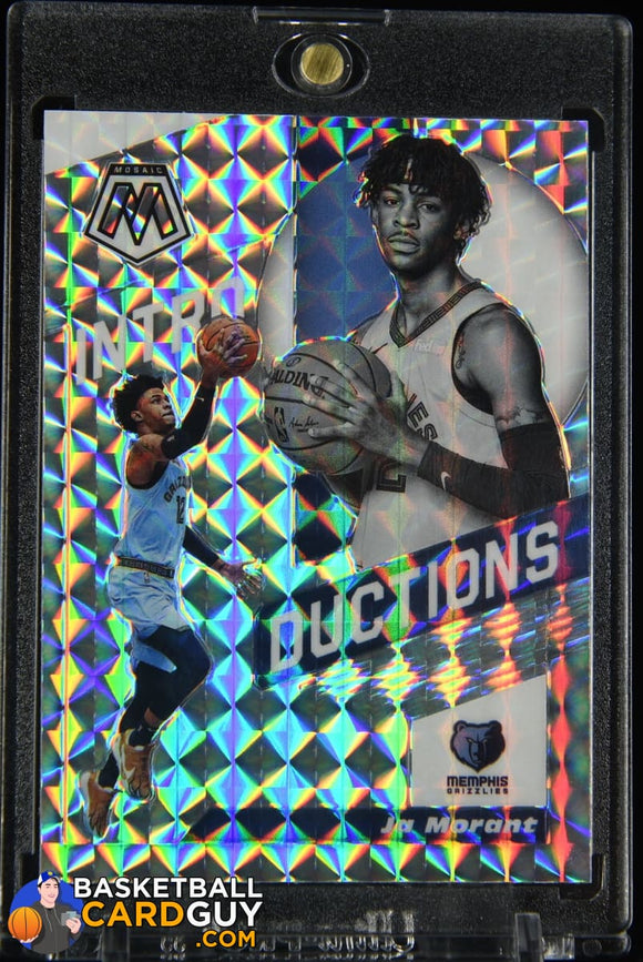 Ja Morant 2019-20 Panini Mosaic Introductions Mosaic #7 RC prizm, refractor, rookie card