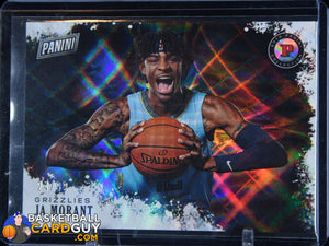 Ja Morant 2019 Panini Black Friday Panini Collection Future Frames #/99 RC - Basketball Cards