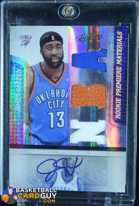 James Harden 2009-10 Absolute Memorabilia #146 JSY AU #/499 RC - Basketball Cards
