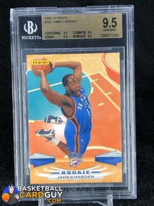 James Harden 2009-10 Panini #303 RC BGS 9.5 GEM MINT - Basketball Cards