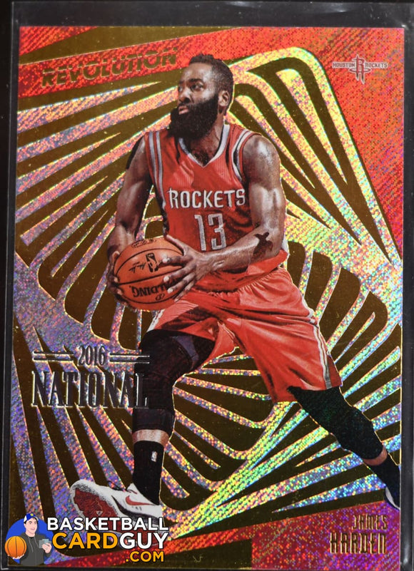 James Harden 2016 Panini National Convention Revolution /5 - Basketball Cards