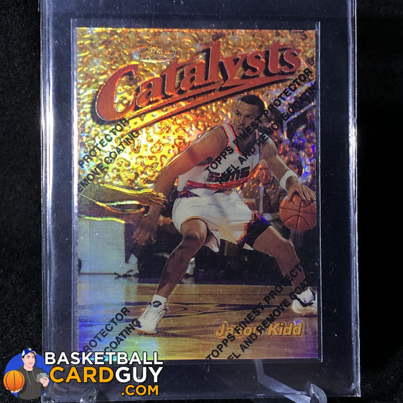 Jason Kidd 1997-98 Finest Gold Test Refractors #171  #/289 - Basketball Cards