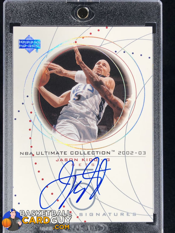 Jason Kidd 2002-03 Ultimate Collection Signatures #JKS - Basketball Cards
