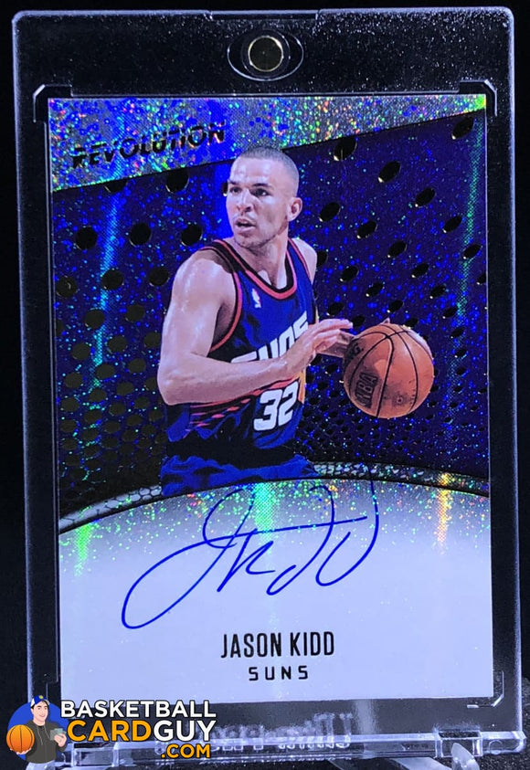 Jason Kidd 2017-18 Panini Revolution Autographs #18 - Basketball Cards