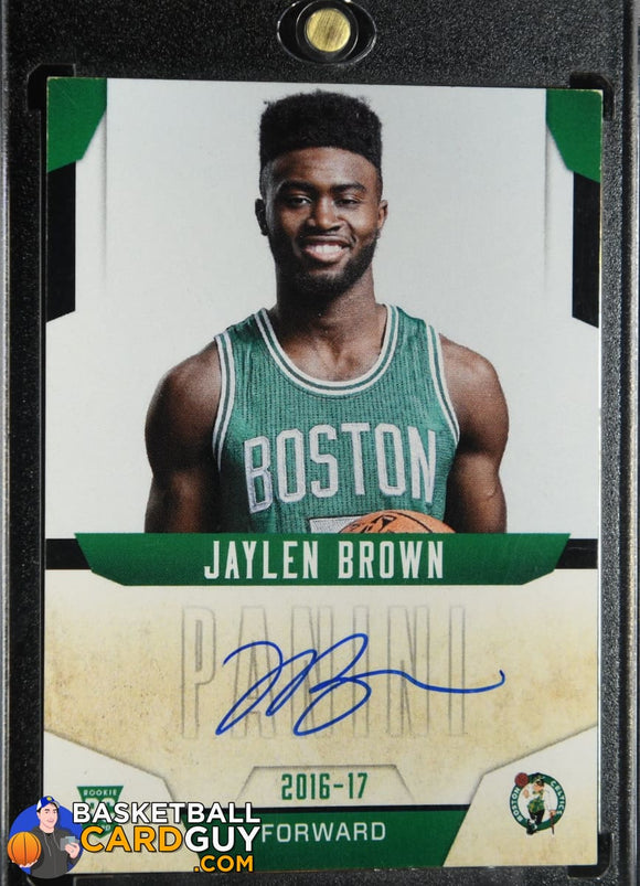 Jaylen Brown 2016-17 Donruss Next Day Autographs #2 autograph, basketball card, rookie card