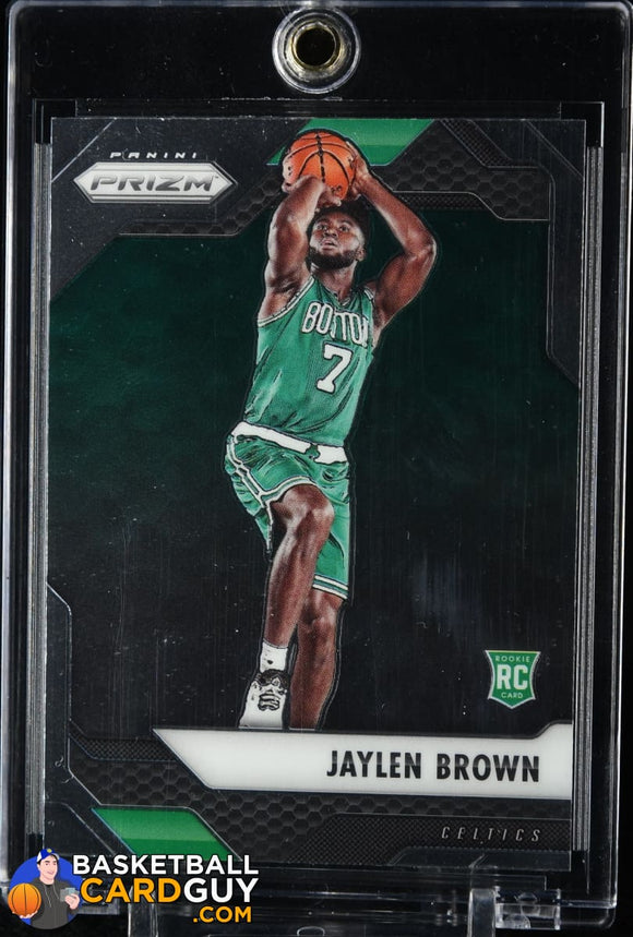 Jaylen Brown 2016-17 Panini Prizm #44 RC basketball card, rookie card