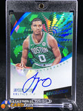 Jayson Tatum 2017-18 Panini Revolution Autographs Cubic RC /50 - Basketball Cards