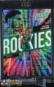 Jayson Tatum 2018 Panini National Convention Escher Squares RC #/25 - Basketball Cards