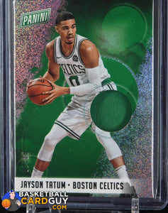 Jayson Tatum 2018 Panini National Convention Jersey Sparkle RC #/15 - Basketball Cards