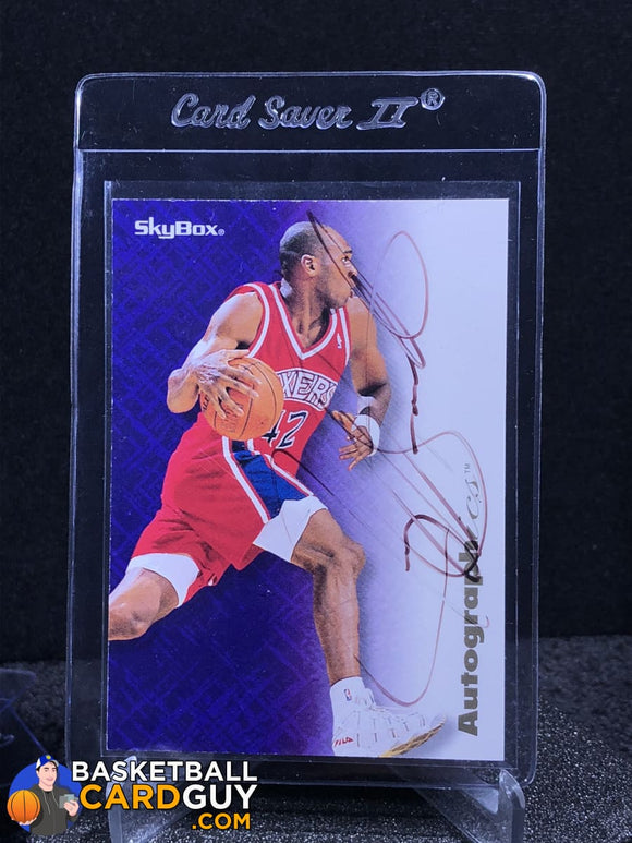 Jerry Stackhouse 1996-97 Skybox Autographics - Basketball Cards