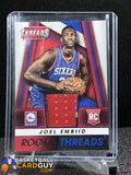 Joel Embiid 2014-15 Panini Threads Rookie Threads #13 - Basketball Cards