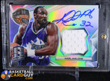 Karl Malone 2014-15 Panini Spectra Hall of Fame Autograph Materials #/35 - Basketball Cards