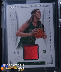 Kelly Olynyk 2013-14 Panini National Treasures Sneaker Swatches /60 - Basketball Cards