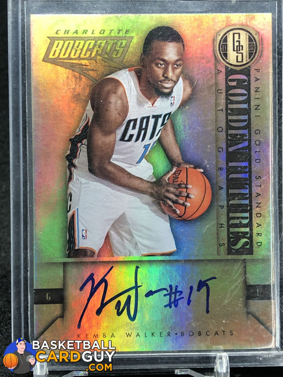 Kemba Walker 2011-12 Panini Gold Standard 2011 Draft Pick Redemptions Autographs #KW - Basketball Cards