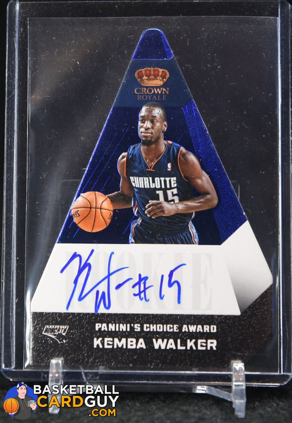 Kemba Walker 2012-13 Panini Preferred #500 PC Award AU #/49 - Basketball Cards