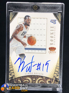 Kemba Walker 2012-13 Panini Preferred Silhouettes RC Jersey Auto #/199 - Basketball Cards