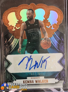 Kemba Walker 2017-18 Crown Royale Crown Autographs #/75 - Basketball Cards
