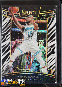 Kemba Walker 2018-19 Select Prizms Zebra #88 - Basketball Cards