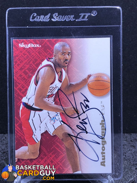 Kenny Smith 1996-97 Skybox Autographics - Basketball Cards