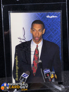 Kerry Kittles 1996-97 Skybox Autographics RC - Basketball Cards