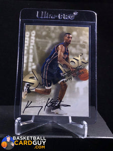 Kerry Kittles 1998-99 Skybox Premium Autographics - Basketball Cards