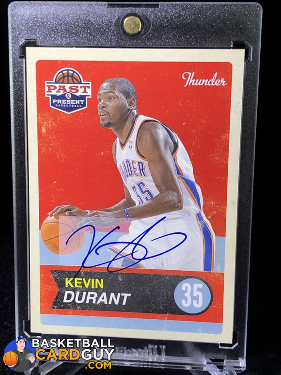 Kevin Durant 2011-12 Panini Past and Present Autographs #21 - Basketball Cards