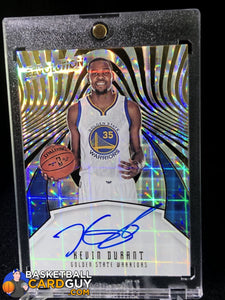 Kevin Durant 2016-17 Panini Revolution Autographs #4 - Basketball Cards