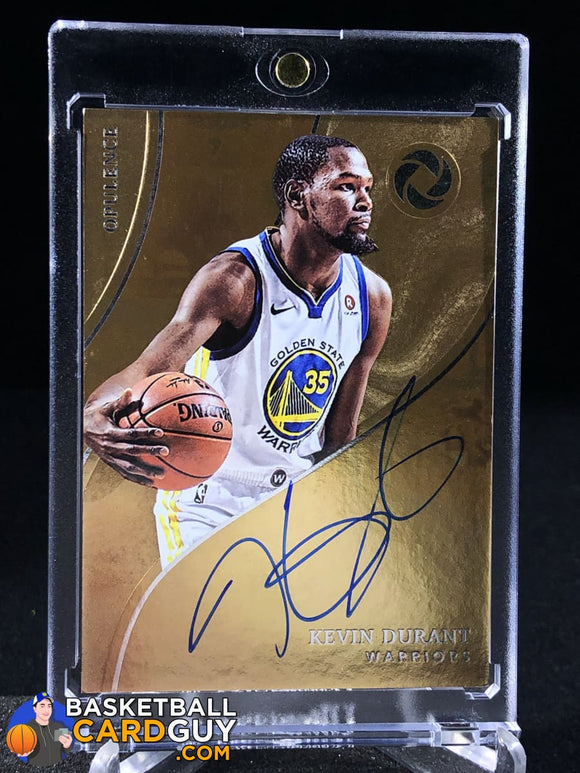 Kevin Durant 2017-18 Panini Opulence Opulent Autographs Silver /25 - Basketball Cards