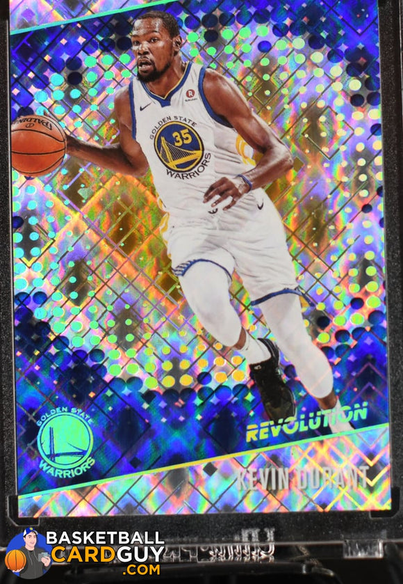 Kevin Durant 2017-18 Panini Revolution Cosmic #/100 - Basketball Cards