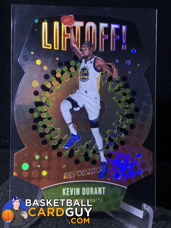 Kevin Durant 2017-18 Panini Revolution Liftoff! - Basketball Cards