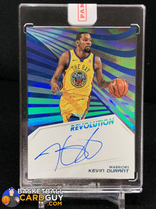 Kevin Durant 2018-19 Panini Revolution Autographs Infinite #/25 - Basketball Cards