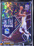 Kevin Durant 2018-19 Panini Spectra In The Zone Autographs Neon Pink #/15 - Basketball Cards