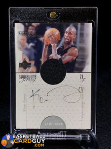 Kevin Garnett 2000-01 Upper Deck Pros and Prospects Signature Jerseys #KG - Basketball Cards