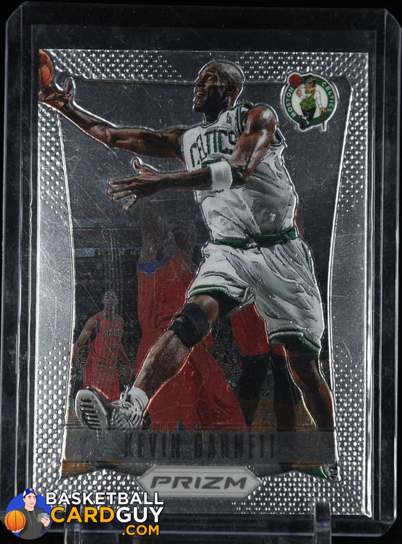 Kevin Garnett 2012-13 Panini Prizm #33 (First year prizm) basketball card, prizm